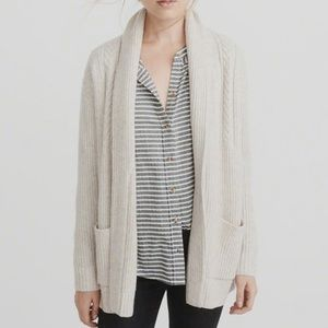 Abercrombie & Fitch Shawl-Collar Cardigan | size:S